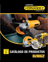 Catálogo de productos de la marca Black and Decker